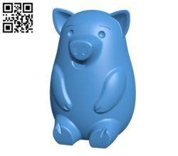 Piggy bank B004694 file stl free download 3D Model for CNC and 3d printer