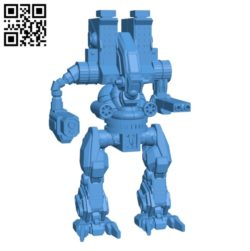 Prometheus Robot B004729 file stl free download 3D Model for CNC and 3d printer