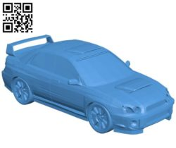 Rally car B004569 file stl free download 3D Model for CNC and 3d printer