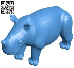 Rhino B004562 file stl free download 3D Model for CNC and 3d printer
