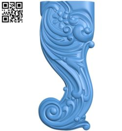 Table and chair pattern A003350 wood carving file stl for Artcam and Aspire jdpaint free vector art 3d model download for CNC