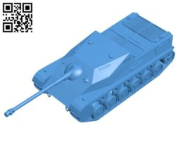 Tank B004558 file stl free download 3D Model for CNC and 3d printer