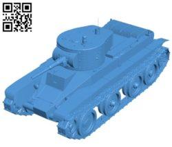 Tank BT B004504 file stl free download 3D Model for CNC and 3d printer