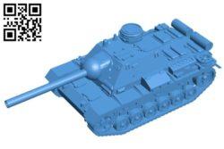 Tank SU-85I B004515 file stl free download 3D Model for CNC and 3d printer