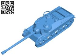 Tank T28 B004508 file stl free download 3D Model for CNC and 3d printer