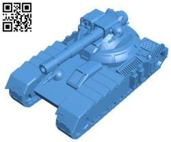 Tank Tiger T12 B004482 file stl free download 3D Model for CNC and 3d printer