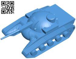 Tank scav B004551 file stl free download 3D Model for CNC and 3d printer