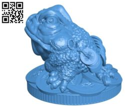 The toad has money B004518 file stl free download 3D Model for CNC and 3d printer