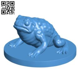 Toad B004478 file stl free download 3D Model for CNC and 3d printer
