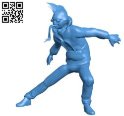 Toad x men B004473 file stl free download 3D Model for CNC and 3d printer