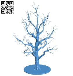 Tree B004468 file stl free download 3D Model for CNC and 3d printer