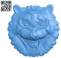 Wolf head A003582 wood carving file stl for Artcam and Aspire free art 3d model download for CNC