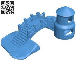 aquarium castle B004786 file stl free download 3D Model for CNC and 3d printe
