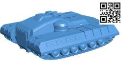 magi tank B004665 file stl free download 3D Model for CNC and 3d printer