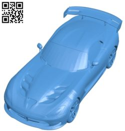 ACR Viper Race Car B004894 file stl free download 3D Model for CNC and 3d printer