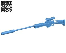 AWP warfare B004924 file stl free download 3D Model for CNC and 3d printer