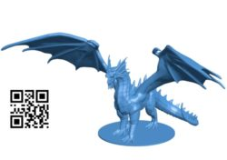 Bahamut Dragon B004926 file stl free download 3D Model for CNC and 3d printer