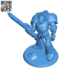 Blood Angels B004931 file stl free download 3D Model for CNC and 3d printer