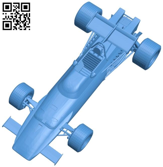 Car Ferrari 312B B005204 File Stl Free Download 3D Model