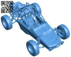Car buggy B005142 file stl free download 3D Model for CNC and 3d printer
