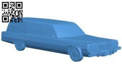 Car cadillac miller meteor B005158 file stl free download 3D Model for CNC and 3d printer