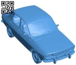 Car dacia B005246 file stl free download 3D Model for CNC and 3d printer