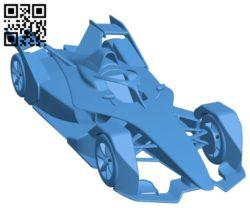 Car formula e gen2 B005237 file stl free download 3D Model for CNC and 3d printer