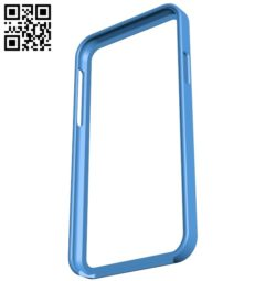 Cover iphone x bump pla B004958 file stl free download 3D Model for CNC and 3d printer