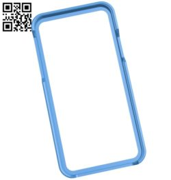 Cover iphone x bump pla cut outs B004959 file stl free download 3D Model for CNC and 3d printer