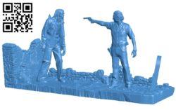 Dead Walker B004884 file stl free download 3D Model for CNC and 3d printer