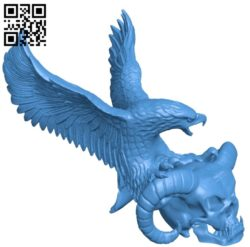 Devil Eagle B005045 file stl free download 3D Model for CNC and 3d printer