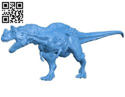 Dinosaurs ceratosaurus B005126 file stl free download 3D Model for CNC and 3d printer
