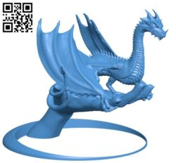 Dragon Comp B004850 file stl free download 3D Model for CNC and 3d printer