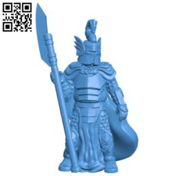 Dragon Knight Man B005154 file stl free download 3D Model for CNC and 3d printer