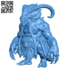Dragon Ogre B004851 file stl free download 3D Model for CNC and 3d printer