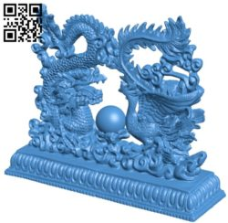 Dragon and phoenix B004985 file stl free download 3D Model for CNC and 3d printer
