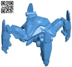 Dragoon starcraft B005047 file stl free download 3D Model for CNC and 3d printer