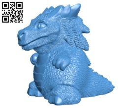 Easter dragon B004855 file stl free download 3D Model for CNC and 3d printer