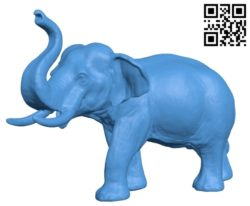 Elephant B004857 file stl free download 3D Model for CNC and 3d printer