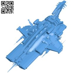 Explorer space ship B005054 file stl free download 3D Model for CNC and 3d printer
