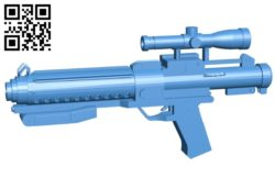 F11-D gun B004862 file stl free download 3D Model for CNC and 3d printer