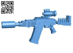 Firefly Vera gun B004865 file stl free download 3D Model for CNC and 3d printer