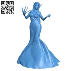 Forest witch B004868 file stl free download 3D Model for CNC and 3d printer