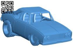 Fortnite Muscle Car B005159 file stl free download 3D Model for CNC and 3d printer
