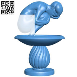Fountain B004875 file stl free download 3D Model for CNC and 3d printer