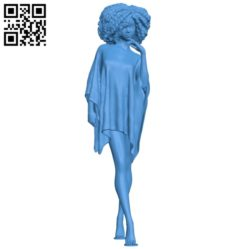 Frezi Grant woman B004871 file stl free download 3D Model for CNC and 3d printer