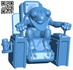 Frog chair B005091 file stl free download 3D Model for CNC and 3d printer
