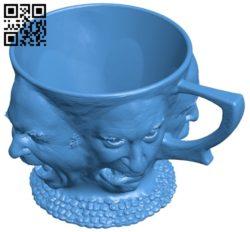 Good bad da mug B005161 file stl free download 3D Model for CNC and 3d printer
