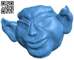 Head Monster B005174 file stl free download 3D Model for CNC and 3d printer