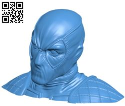 Head dead pool B004967 file stl free download 3D Model for CNC and 3d printer